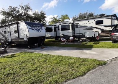 RVs parked in Florida